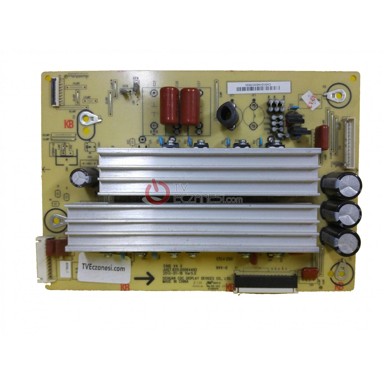51HD V4 X, JUQ7.820.00064492, VER5.0, 4BTD0627Y, 4BTDR1.F, COC, CN51G4000, SUNNY SN051PDP690-3DFM, Z-SUS BOARD