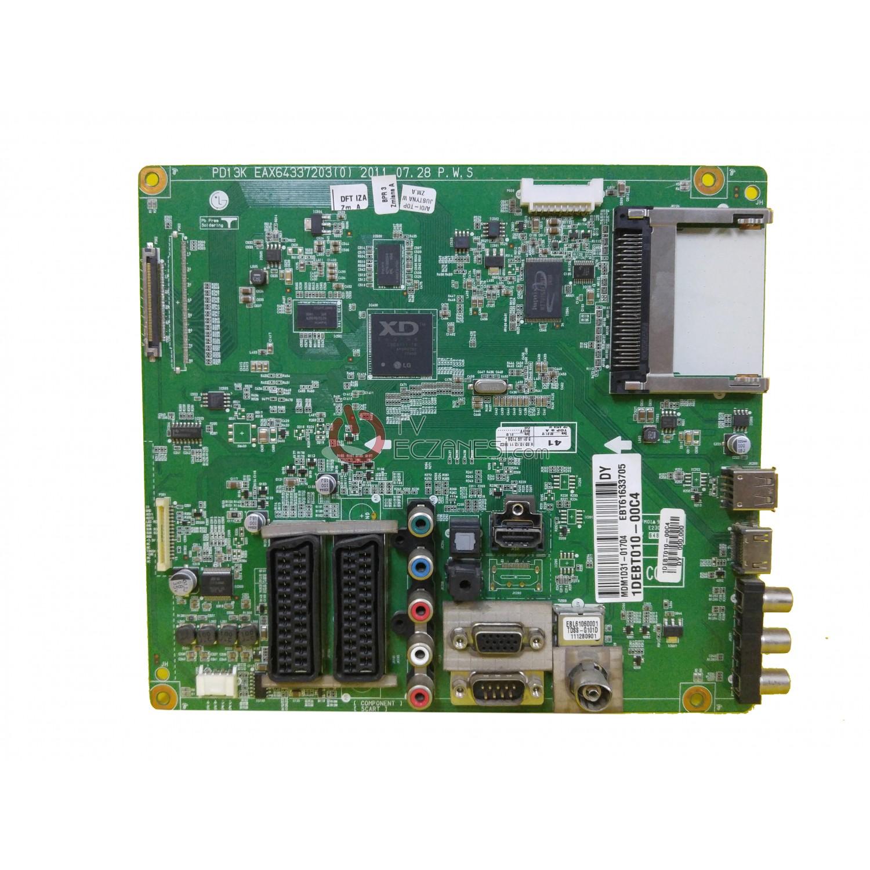 EBT61633705, PD13K, EAX64337203(0), LG 50PT351-ZJ, MAIN BOARD, ANA KART