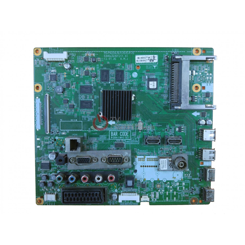 EAX64349212, EBT62079702, LG 50PM6800, MAIN BOARD, ANA KART
