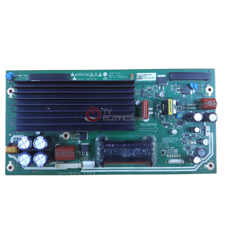 EAX36921401, EBR42538401, 42X4A-Z, LG PLAZMA Z-SUS BOARD