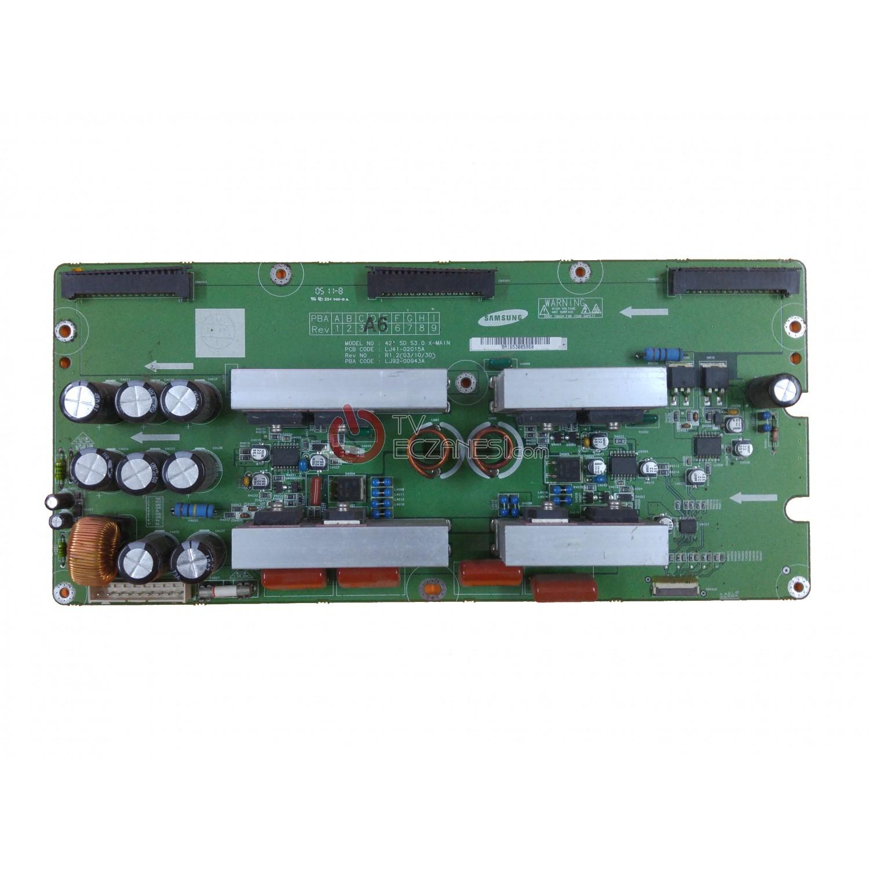 LJ41-02015A , LJ92-00943A , X-MAIN BOARD , Z-SUS BOARD