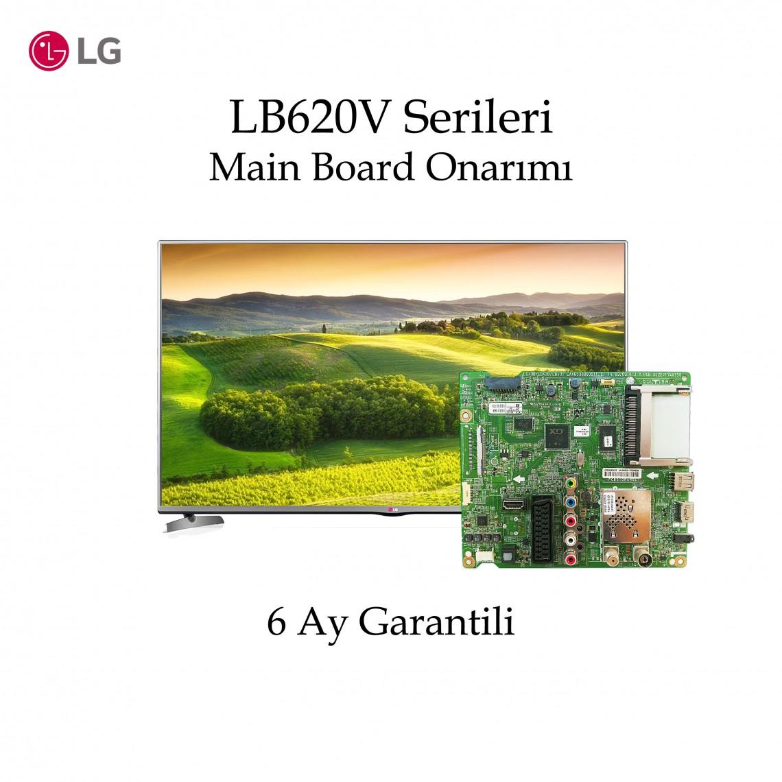 42LB620V, 49LB620V, 55LB620V,  EAX65388005 (1.0), EAX65388006 (1.0), Main Board Onarımı