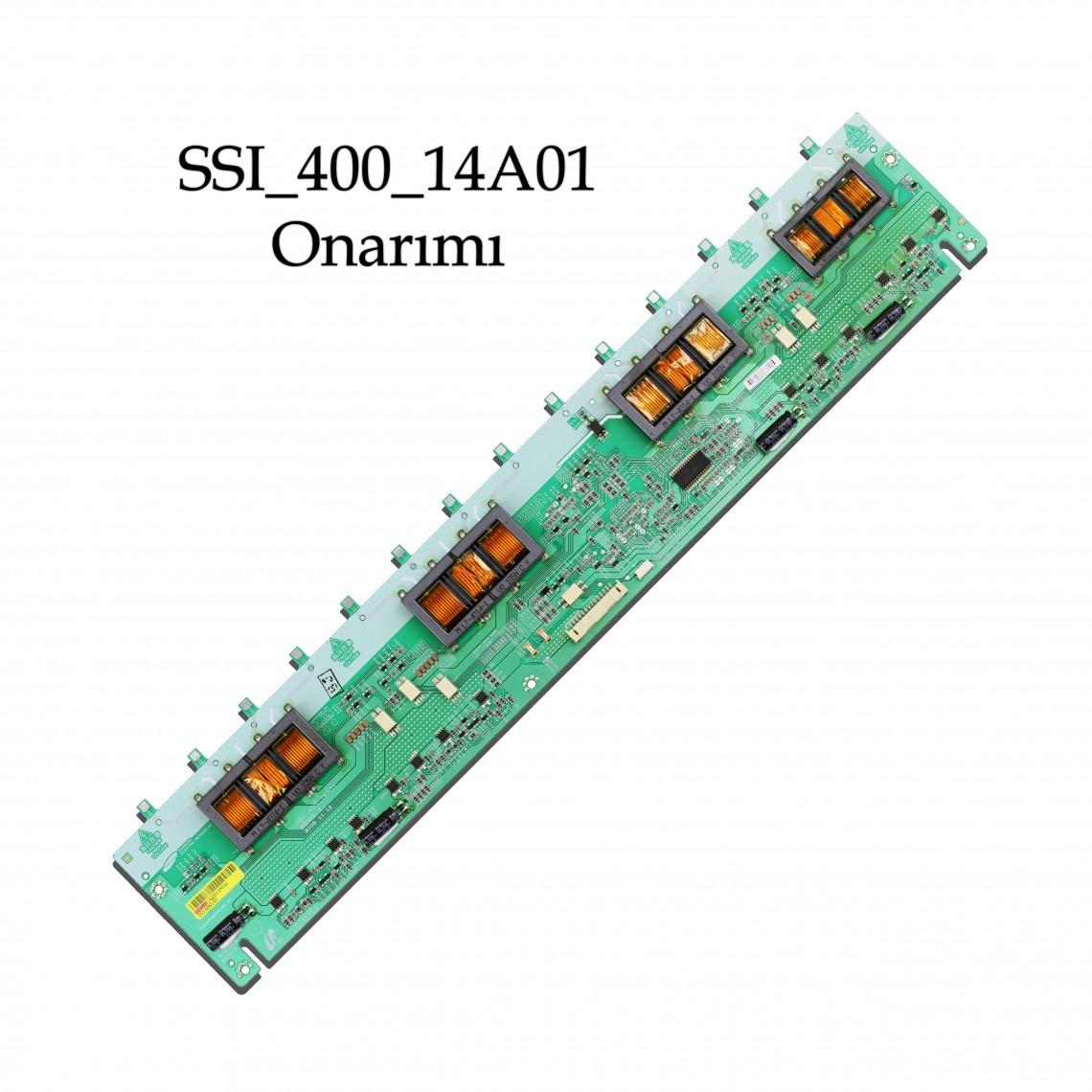"SSI_400_14A01 REV0.1 , LTA400HA07, LTA400HA11, LTF400HA08, LTA400HF02,  VESTEL 40FP5003 40"" LCD, TOSHIBA 40RV525R, TOSHIBA 40RV52RZ, TOSHIBA 40XV645U, INVERTER BOARD, Onarım"