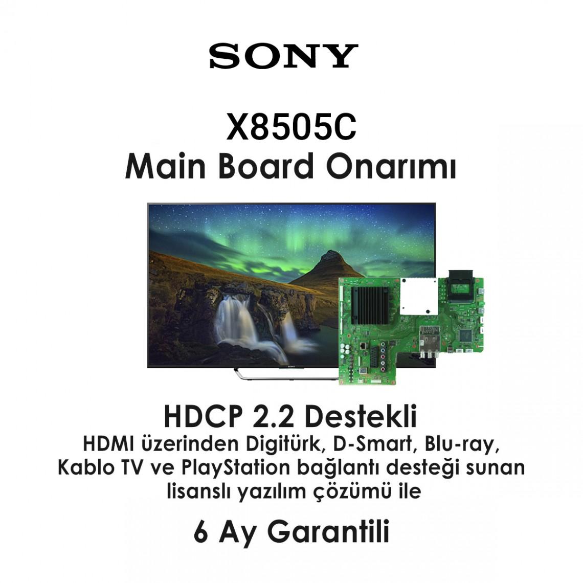 SONY, 1-894-596-21, 1-894-596-22, 55X8505C, Led TV, Main Board