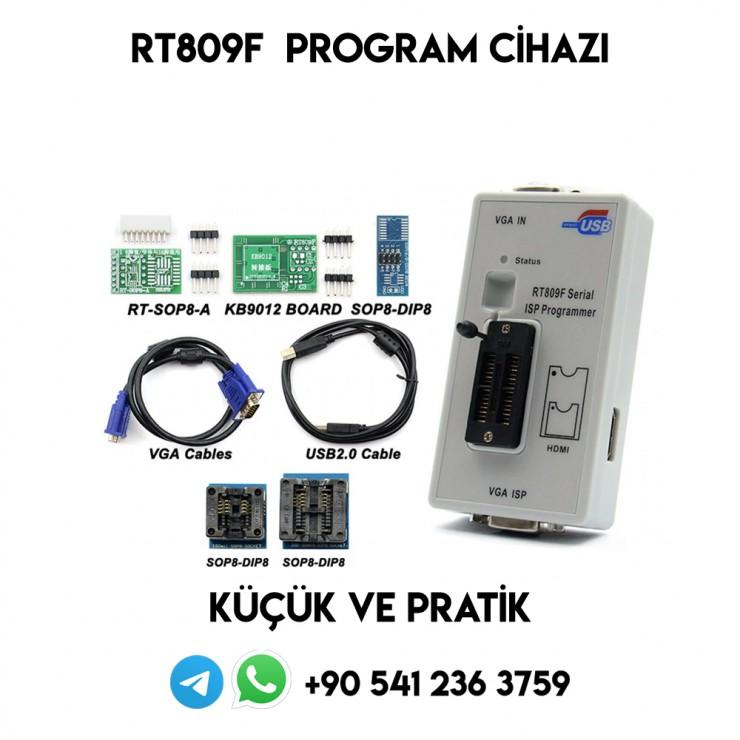 RT809F, Serial ISP PROGRAMMER, SPİ, EPROM, MCU, BİOS, PROGRAM CİHAZI