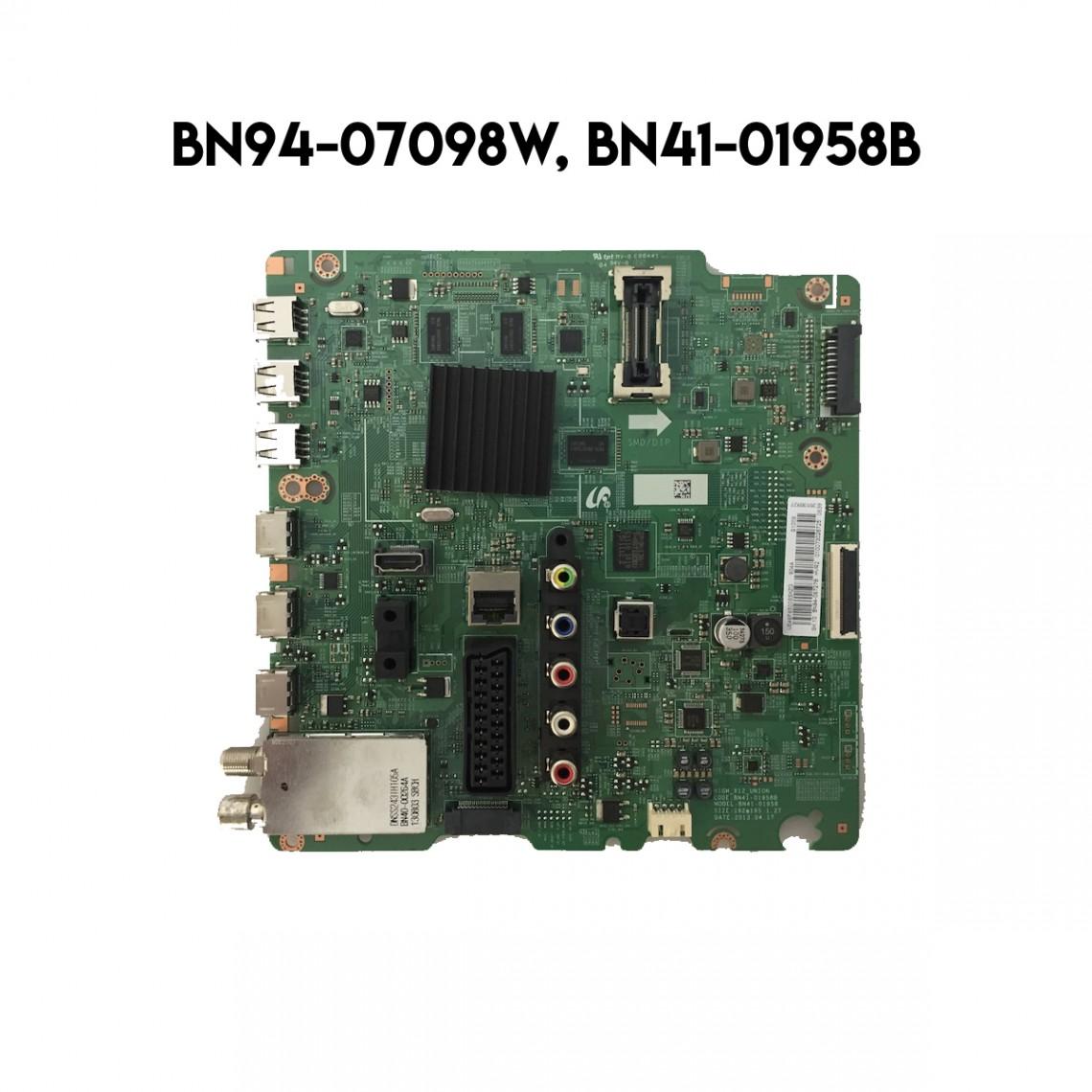 BN94-07098W, BN41-01958, BN41-01958B, UE46F6500, SAMSUNG MAİN BOARD